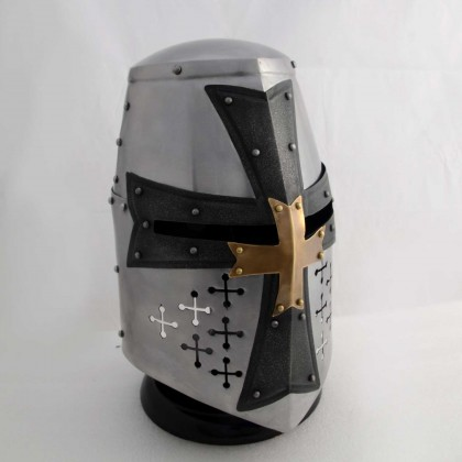 Medieval Cross Helmet