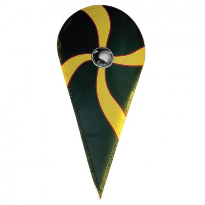 Viking Kite Shield (Painted)(Wooden Option Available, AH3967W)