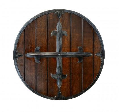 Medieval Round Wooden Shield