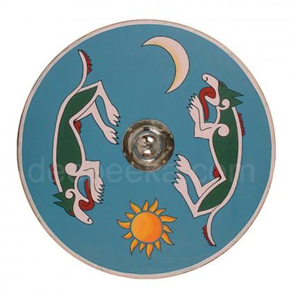 Viking Fox shield