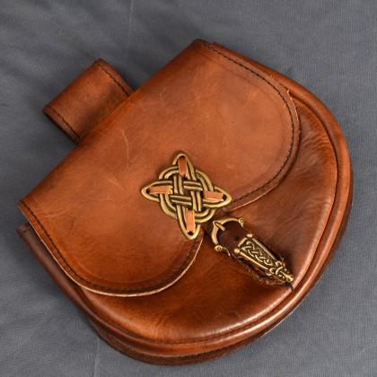 Celtic Purse - Leather