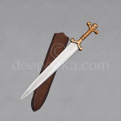 Celtic Dagger - Bronze Head