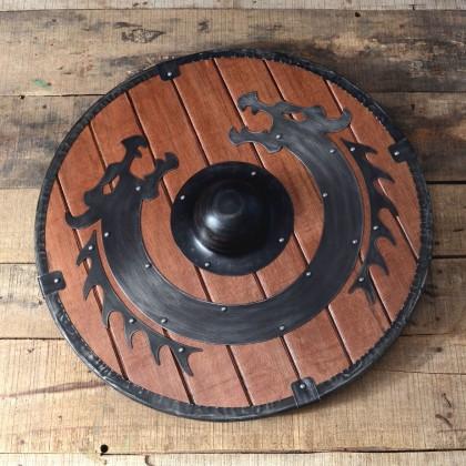 Viking Dragon wooden Shield