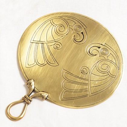 Celtic Mirror - Two Bird (Medium)