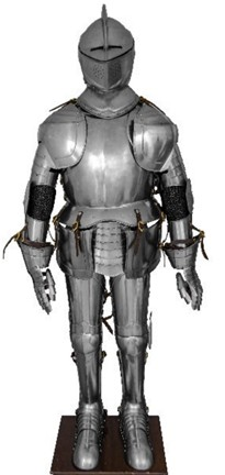 Lancelot Armour WITH STAND
