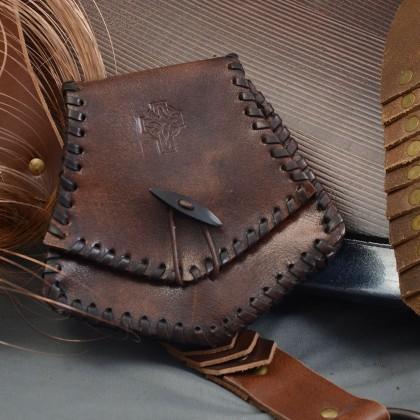 Pitish Leather Bag w/leather beading