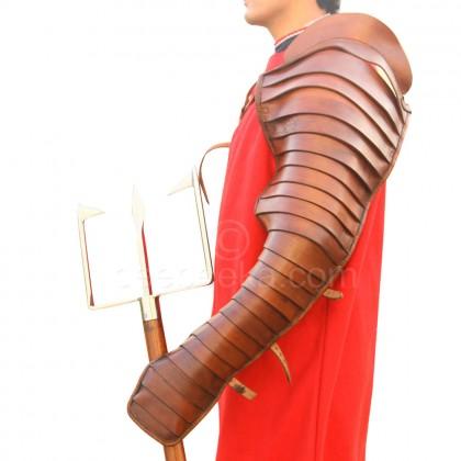 Gladiator Leather Arm Guard (Single)