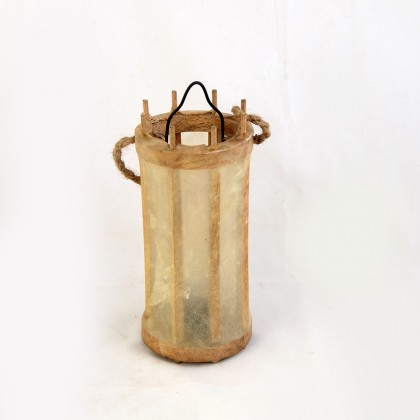 13th C. Balkan Murals Medieval Candle Lantern (Parchment Cover)