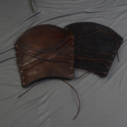 Leather Greaves, Cross