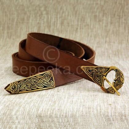 Viking Leather Belt