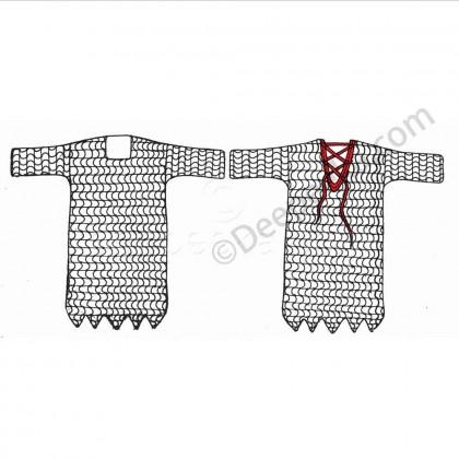 Viking Dagged Shirt