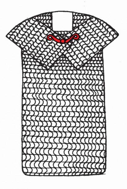 Celtic Mail Shirt