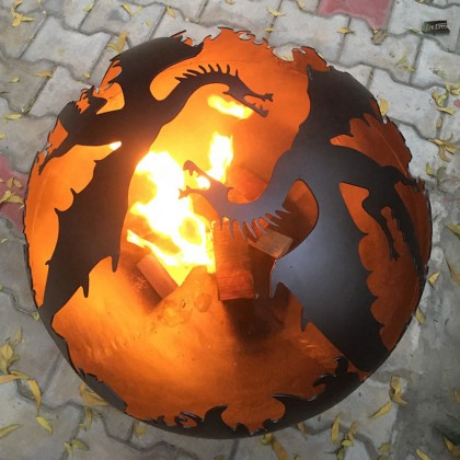Firepit Dragon