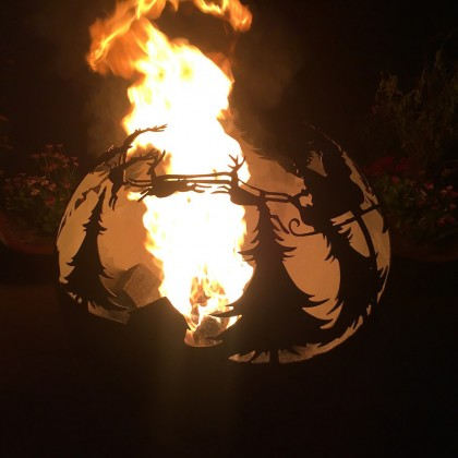 Firepit Christmas