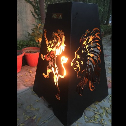 Firepit Lion