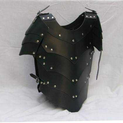 Child Leather Medieval Dragon Armour