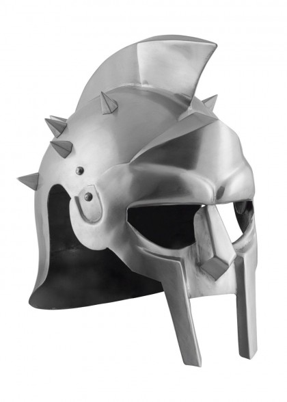 Gladiator helmets with spikes