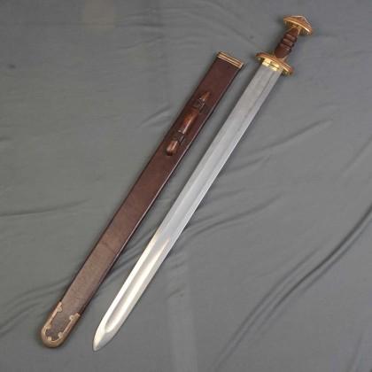 Sutton Hoo Sword Brass