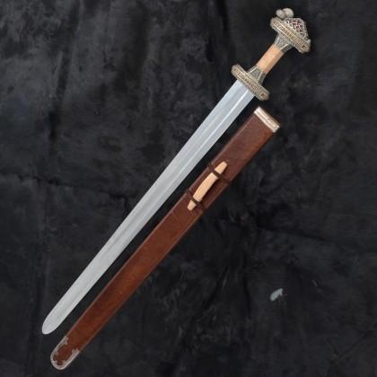 Vendelsvard Grave 32 Sword - Tin (Brass Strip)