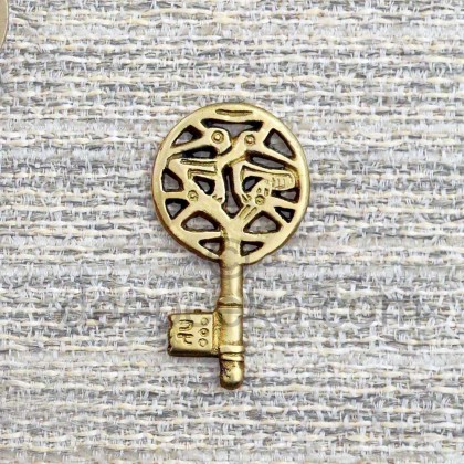 Viking Key (Brass)